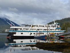 Built in 1979, the 143-foot-long Admiralty Dream originally sailed for Cruise West as the Spirit of Columbia. Cruise West shut down in 2010.