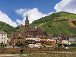 Travel to Germany's Upper Middle Rhine Valley, dotted with ancient castles, where you can taste a variety of homegrown Rieslings; or explore the country's oldest wine region, the Moselle, where vineyards lie on terraced hillsides.