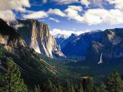 The tunnel view is a classic view available in Yosemite National Park.