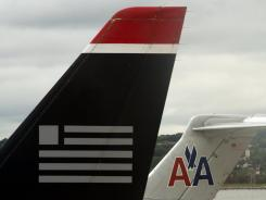 A merged US Airways-American airline would be the market leader across two-thirds of the country, US Airways CEO Doug Parker says.