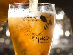 The Fairmont Royal York has created a unique honey beer called Royal Stinger.