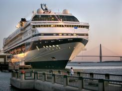 The National Trust for Historic Preservation last year put Charleston on 'watch status,' saying it could make the organization's list of endangered places because of threats from the growing cruise industry.