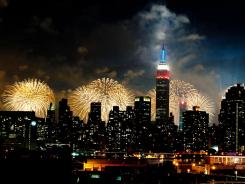 "There's plenty for travelers to see and do this July 4th, from the fireworks show above the Hudson River in New York City to the ""Firecracker 5000"" 5-K run in Branson, Mo."
