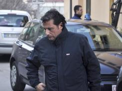Francesco Schettino, captain of the Costa Concordia, is arrested in Porto Santo Stefano, Italy, on Jan. 14.