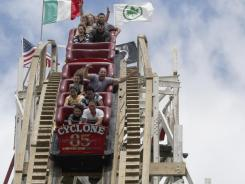 The Cyclone roller coaster at Coney Island in New York turned 85 this June.