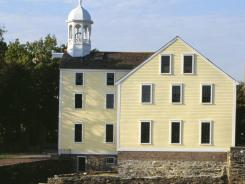Slater Mill was modeled after cotton spinning mills first established in England.
