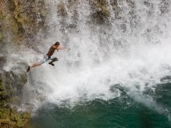 Havasu Falls' Caribbean-blue pool is for the most tenacious of swimming-hole devotees. There are only three ways to arrive: hire a helicopter, hike 10 miles, or ride a pack mule.