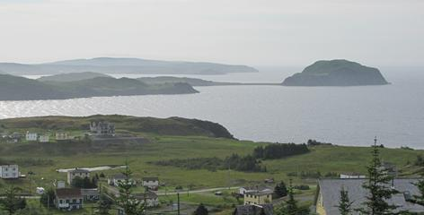 A view off the Bonavista Peninsula in northeastern Newfoundland.