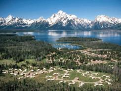 President Calvin Coolidge signed the bill creating a 96,000-acre park, which encompassed only the Teton Range and six glacial lakes at the foot of those peaks, in 1929. Expanding park protection to include the valley floor was not completed until 1950.