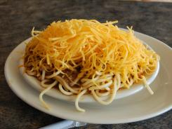 The 4-way chili at Skyline was Olmsted's favorite because the pasta was less overcooked and the chili was slightly meatier than at other places.