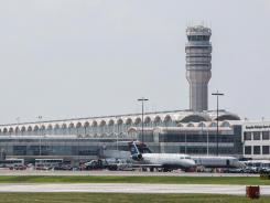 An error by an air-traffic controller resulted in three jets flying too closely together at Ronald Reagan Washington National Airport in Arlington, Va.