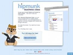 Hipmunk Business Class: Service is geared toward small businesses that don't have in-house travel planners.