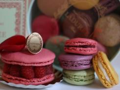If the 19th century had the equivalent of a cupcake craze, it would be the French macarons at Laduree.