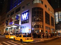 The W Hotel in New York.