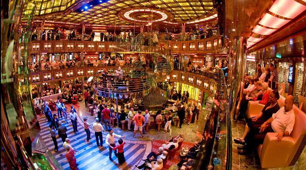 Carnival Dream Cruise Ship Tour Abandon Ship Carnival Dream