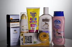 An array of sunscreens. What does SPF really mean? What experts have to say about sun protection.