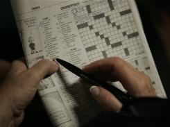 "In a study, people who did activities such as crosswords, listening to the radio, reading, and going to a museum earned points on a ""cognitive activity scale."""