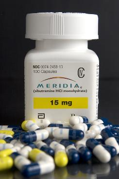 Abbott Laboratories' weight-loss pill, Meridia, will be the subject of an upcoming Food and Drug Administration meeting.