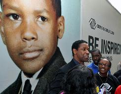 Denzel Washington at a Boys & Girls Clubs of America event Sept. 17 in Washington, D.C.