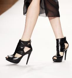Stiletto heels are part of the Nicole Miller spring 2011 collection presented during New York Fashion Week Sept. 10, but they should not be part of your wardrobe if you want to have good posture, experts say.