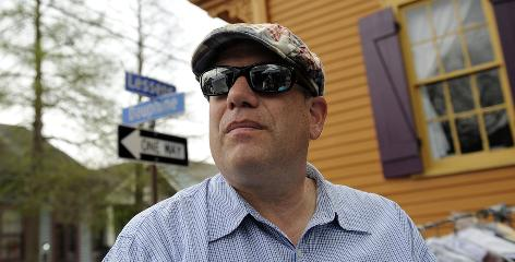 """David Simon, creator of the critically acclaimed television shows 'The Wire' and 'Homicide: Life on the Street,' works on the New Orleans set of his latest project, 'Treme.' Simon is among 23 recipients of this year's MacArthur Foundation """"genius grants."""""""