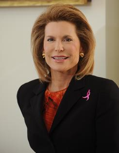 Nancy Brinker founded Susan G. Komen for the Cure in honor of her sister who died from breast cancer.