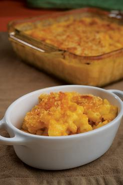 Mac and cheese from 'What to Eat During Cancer Treatment: 100 Great-Tasting, Family-Friendly Recipes to Help You Cope.'