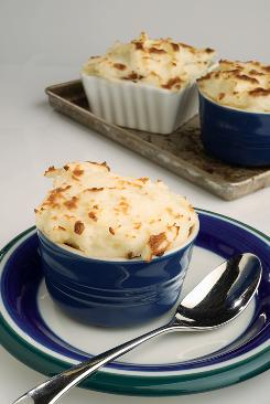 Mini shepherd's pies from 'What to Eat During Cancer Treatment.'