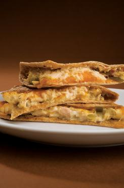 Tuna melt quesadilla from the American Cancer Society's ' What to Eat During Cancer Treatment.'