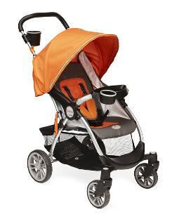Hands off: The Contours Lite stroller could catch a child's finger.