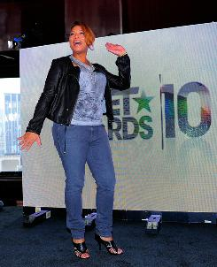 "Queen Latifah announces the host, nominees and performers for the 10th Annual BET Awards in May 2010. Full-figured celebs like her have given ""big girls"" more confidence."