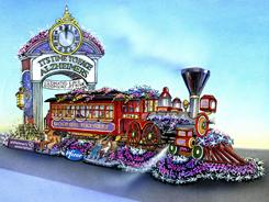 The float, part of the Tournament of Roses Parade, aims to get Americans onboard in the fight against Alzheimer's.