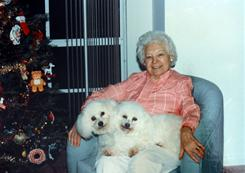 The late Madeline Neuman is shown in this family photo. Neumann had a living will and medical directive requesting that she not receive life-saving care if she collapsed. The nursing home where she lived sent her to the ER where she died 7 days later. The three granddaughters are suing the nursing home and the nursing home's doctor saying their grandmother was denied a peaceful death.