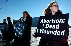 One reason the abortion numbers and rate didn't decline as expected could be the recession.
