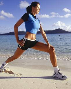 Lunges are a great exercise for sculpting your legs.