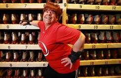 Tracey Sekula lost about 100 pounds by exercising diligently and rollerskating.