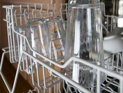 Many new dishwashers have filters that need occasional cleaning.