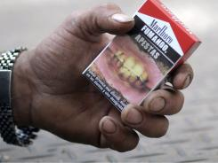 The. U.S. isn't the first country to require graphic cigarette labels on packs.