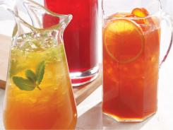 Jasmine-mint iced tea from Eating Well Magazine.