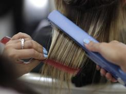 A woman having her hair straightened at a salon in Rio de Janeiro. The Brazilian Blowout surfaced around 2005 in Brazil, where a combination of high humidity and a largely mixed-race, curly haired population made for a nation of eager customers. It soon spread throughout North America and Europe.