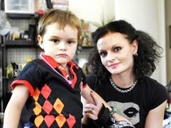 Lyra Stephens' 5-year-old son, Sewell, was diagnosed with autism when he was 2.