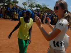 Lauren Bush, right, co-founder of New York City-based Feed Projects.