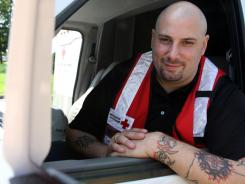 Glenn Kaminsky, 35, started volunteering when he was 10 years old and has been going strong ever since.