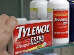 sometime this fall, labels on Extra Strength Tylenol packages will now list the maximum daily dose as six pills, or a total of 3,000 milligrams, down from eight pills a day, or 4,000 milligrams