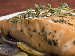 Salmon is rich in omega-3 fats which benefit the heart, memory, and brain.