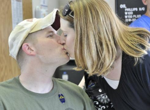 Rock Band Train Songs http://yourlife.usatoday.com/mind-soul/story/2011/08/Military-couple-takes-Train-songs-to-heart-renews-vows/50027622/1