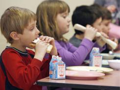 Children who bring their lunch would typically have a little more time to eat because they don't have to stand in line to get their meal, experts say.