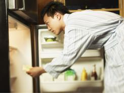Discard refrigerated perishable food such as meat, poultry, fish, soft cheeses, milk, eggs, leftovers and deli items after 4 hours without power.