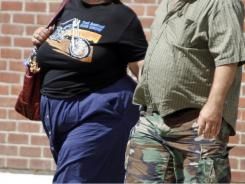 Obesity prevalence varied by gender and ethnicity, the study said.