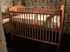 Drop-side cribs have been associated with at least 32 infant suffocations.